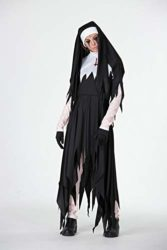 Womens-Halloween-Nun-Demon-Deadpool-Performance-Costume-Party-Cosplay-Costumes-0-2