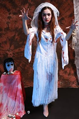 Womens-Horror-Zombie-Countrygirl-Bloody-Costume-0-0