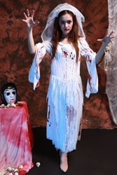 Womens-Horror-Zombie-Countrygirl-Bloody-Costume-0-1