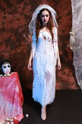 Womens-Horror-Zombie-Countrygirl-Bloody-Costume-0-2