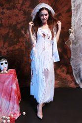 Womens-Horror-Zombie-Countrygirl-Bloody-Costume-0-3