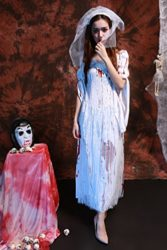 Womens-Horror-Zombie-Countrygirl-Bloody-Costume-0-4