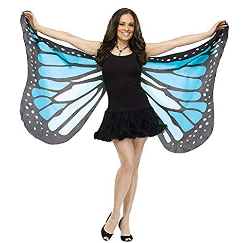 XonyiCos Adult Soft Butterfly Wings Adult Costume Accessory Halloween Party Cosplay Cape