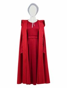 YANGGO-Women-Hooded-Red-Cloak-Cape-Adult-Tunic-Dress-Outfit-for-Christmas-Halloween-Costume-US-Size-0