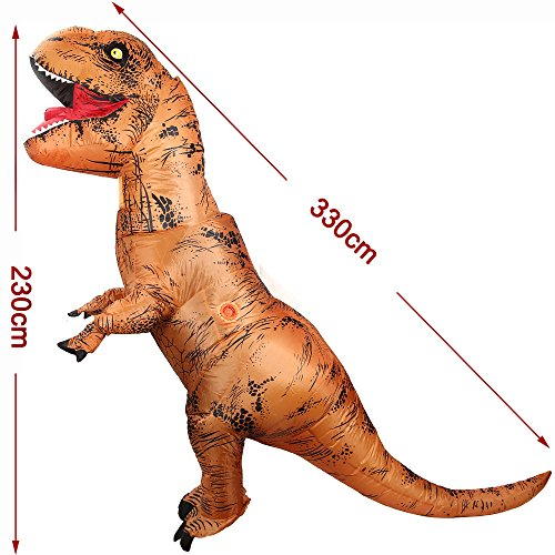 YOWESHOP-Free-Grade-2-Blower-Fan-T-Rex-Dinosaur-Inflatable-Adult-Trex-Costume-Blow-Up-Suit-for-Halloween-JumpsuitOne-Size-0-1
