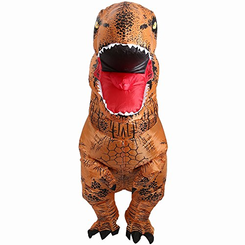 YOWESHOP-Free-Grade-2-Blower-Fan-T-Rex-Dinosaur-Inflatable-Adult-Trex-Costume-Blow-Up-Suit-for-Halloween-JumpsuitOne-Size-0-4