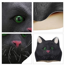 Ylovetoys-Halloween-Mask-Cat-Costume-Head-Mask-Novelty-Halloween-Costume-Party-Masks-Funny-Latex-Animal-Head-Mask-0-3
