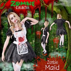Zombie-Collection-Zombie-Maid-Costume-TeenWomens-XSS-Size-0-2