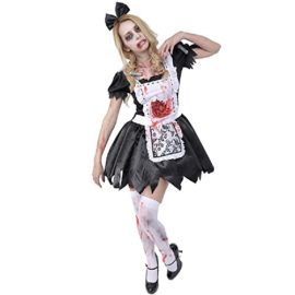 Zombie-Collection-Zombie-Maid-Costume-TeenWomens-XSS-Size-0