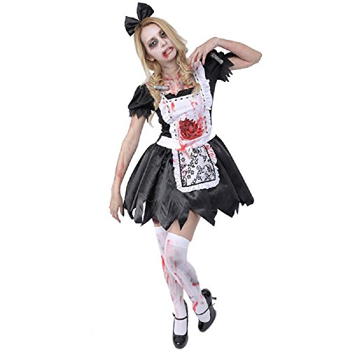 Zombie Collection Zombie Maid Costume – Teen/Women's XS/S Size