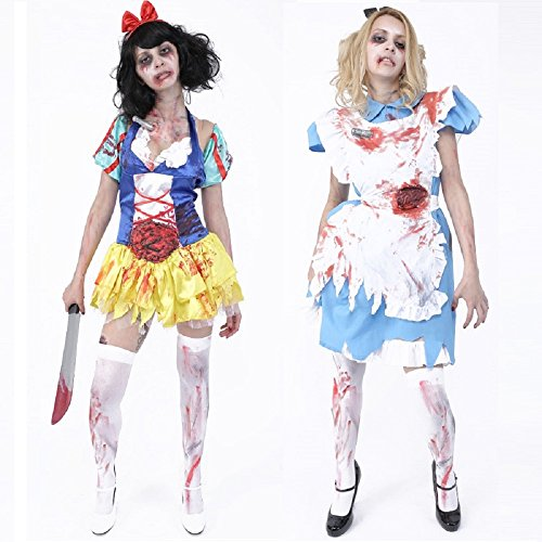 Zombie Collection – Zombie Snow White – Zombie Classical Alice Costume