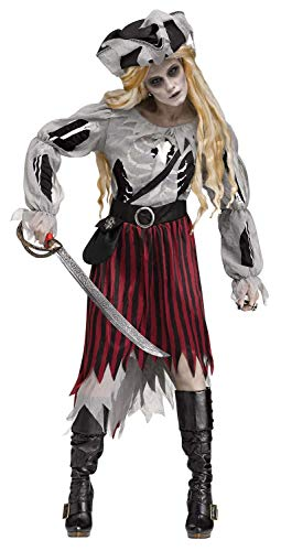 Zombie Pirate Queen Adult Costume