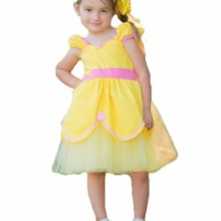 alkky-Princess-Belle-Baby-Girl-Dress-Cinderella-Rapunzel-Mermaid-Party-Costumes-for-Toddler-Girls-0-0