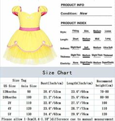 alkky-Princess-Belle-Baby-Girl-Dress-Cinderella-Rapunzel-Mermaid-Party-Costumes-for-Toddler-Girls-0-1