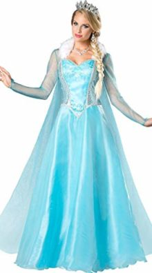 cczwei-Womon-Halloween-Cosplay-Costume-Frozen-Elsa-Princess-Costume-0