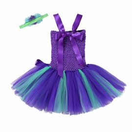 dPois-Kids-Girls-Little-Mermaid-Halloween-Birthday-Cosplay-Party-2Pcs-Fancy-Outfits-Mesh-Tutu-Dress-with-Headband-0-2