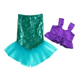 iEFiEL-Kids-Girls-Shiny-Sequins-Mermaid-Tails-Party-Holiday-Costume-Outfits-Fancy-Dress-0-0