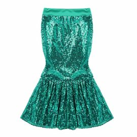 iiniim-Children-Girls-Sequined-Little-Mermaid-Tail-Costumes-Party-Long-Skirt-Halloween-Cosplay-Fancy-Dress-up-Clothes-0-0