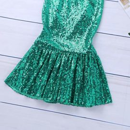 iiniim-Children-Girls-Sequined-Little-Mermaid-Tail-Costumes-Party-Long-Skirt-Halloween-Cosplay-Fancy-Dress-up-Clothes-0-2