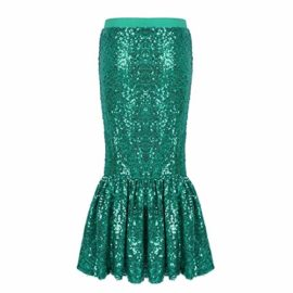 iiniim-Children-Girls-Sequined-Little-Mermaid-Tail-Costumes-Party-Long-Skirt-Halloween-Cosplay-Fancy-Dress-up-Clothes-0