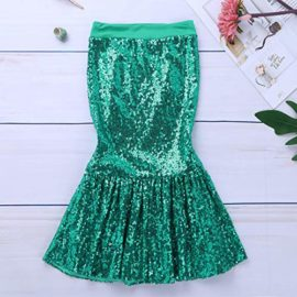 iiniim-Children-Girls-Sequined-Little-Mermaid-Tail-Costumes-Party-Long-Skirt-Halloween-Cosplay-Fancy-Dress-up-Clothes-0-3