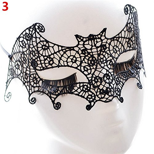 jingyuu-Black-Lace-Mask-Novelty-Halloween-Masks-Costume-Masquerade-Party-Latex-Dance-Party-Prom-Cosplay-Mask-0-3