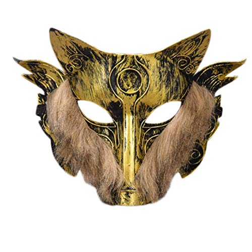 jingyuu Gadgets Novelty Halloween Masks Costume Masquerade Party Latex Dance Party Prom Cosplay Mask