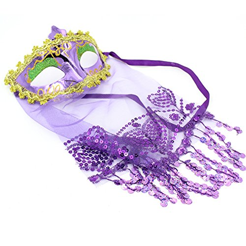jingyuu Indian Belly Dance Mask Novelty Halloween Masks Costume Masquerade Party Dance Party Prom Cosplay Mask