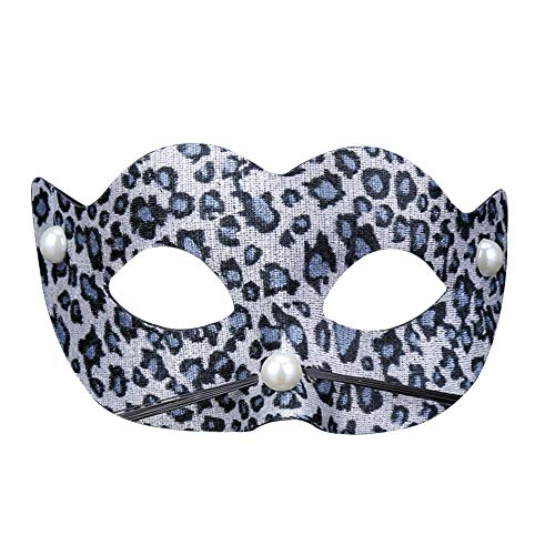 jingyuu Leopard Patch Novelty Halloween Masks Costume Masquerade Party Dance Party Prom Cosplay Mask