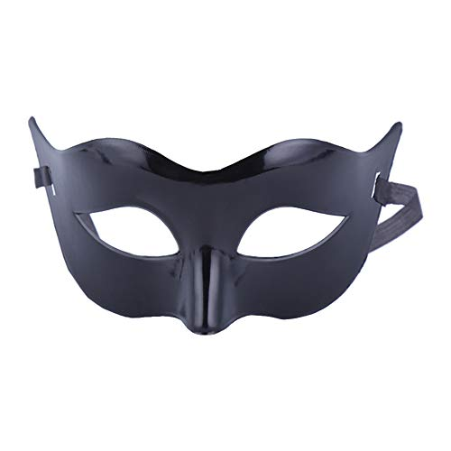 jingyuu Solid Color Matt Mask Novelty Halloween Masks Costume Masquerade Party Dance Party Prom Cosplay Mask