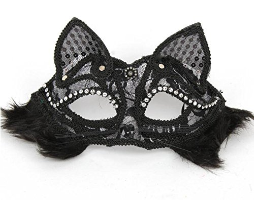 jingyuu Transparent Fox Halloween Masks Costume Masquerade Party Dance Party Prom Cosplay Mask