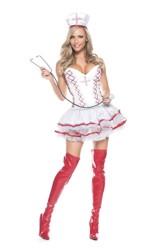 Be Wicked Costumes Women's Home Care Nurse Costume