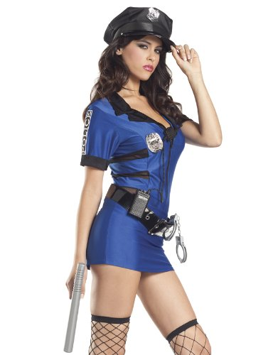 Be Wicked Sexy Policewoman Costume