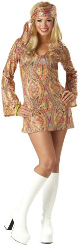 California Costumes Women's Adult-Disco Dolly Costume