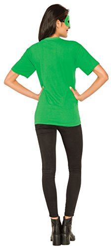 DC-Comics-Womens-Green-Lantern-T-Shirt-With-Eye-Mask-And-Ring-0-1