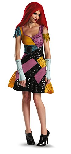 Disguise Tim Burtons The Nightmare Before Christmas Sally Glam Adult Costume