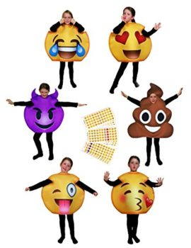 Favorite-Emoji-Costumes-for-Adults-Kids-BONUS-660-Popular-Emoticon-Stickers-0
