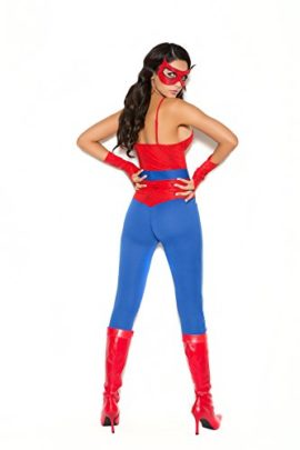 Female-Spider-Super-Hero-Halloween-Roleplay-Costume-5pc-Set-0-0
