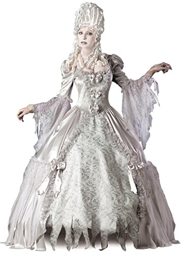 GTH Women's Gothic Victorian Ghost Corpse Countess Deluxe Fancy Costume