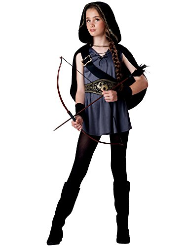 InCharacter Costumes Tween Kids Hooded Huntress Costume