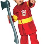 Jr-Firefighter-Costume-Toddlers-Size-2T-4T-0