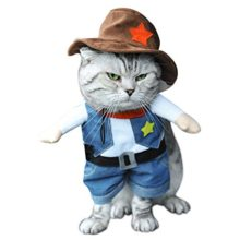 NACOCO-Cowboy-Dog-Costume-with-Hat-Dog-Clothes-Halloween-Costumes-for-Cat-and-Small-Dog-0
