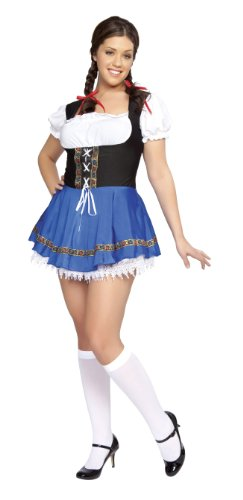 Roma Costume 1 Piece Serving Wench