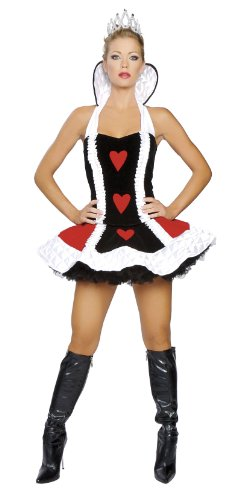 Roma Costume 3 Piece Sexy Queen Of Hearts Costume