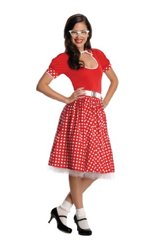 Rubies Secret Wishes 50s Nerd Girl Costume