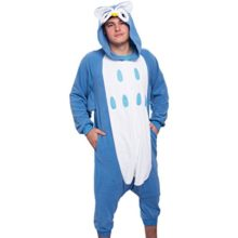 Silver-Lilly-Unisex-Adult-Pajamas-Plush-One-Piece-Cosplay-Owl-Animal-Costume-0