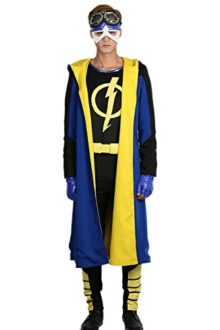 Static-Shock-Costume-Deluxe-Full-Set-Coat-Shirt-Belt-Cosplay-Outfits-0