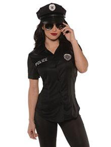 Underwraps-Police-Fitted-Womens-Adult-Shirt-0