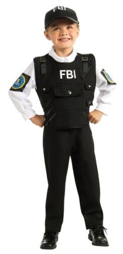 Young Heroes FBI Agent Costume