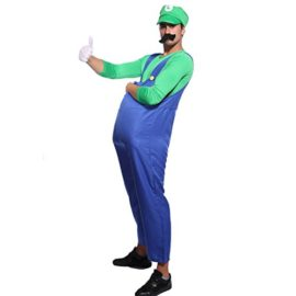 80s-Mens-Adult-Super-Mario-Luigi-Plumber-Bros-Workmen-Game-Fancy-Dress-Costume-0-0
